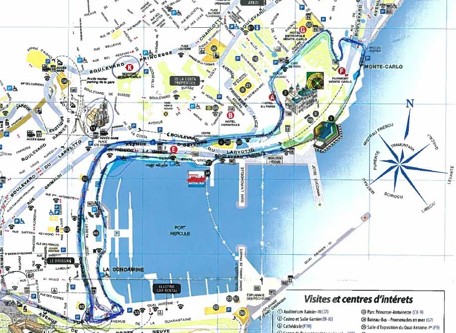Monaco GP Walking Tour The Blog by Javier