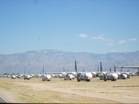 Hundreds of C-130.