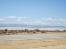 Rosamond Dry Lake (a lake close to Rogers Dry Lake).