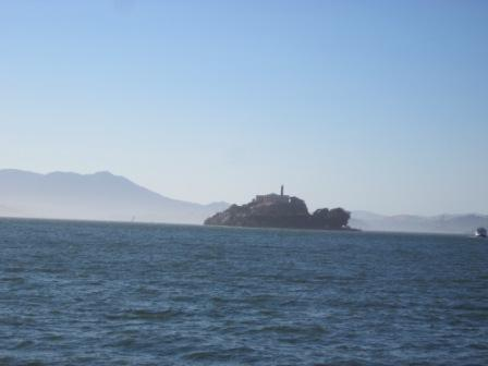 Alcatraz from afar.