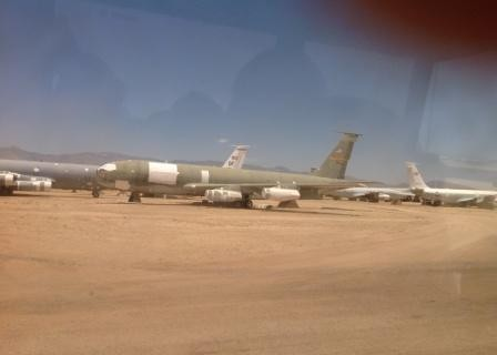 KC-135 partly scrapped.