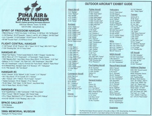 Pimar Air and Space Museum inventory.