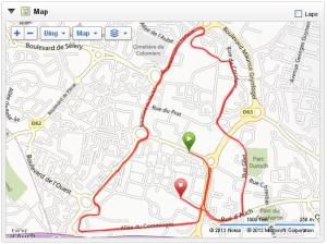 Boulevards de Colomiers 10k circuit.