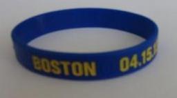 Boston 2013 marathon memorial bracelet.