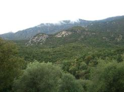 Mountains at the Thermopylae.