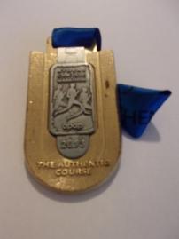 2013 Athens marathon medal