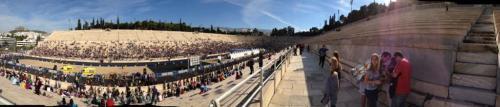 Panathinaiko stadium panoramic view.
