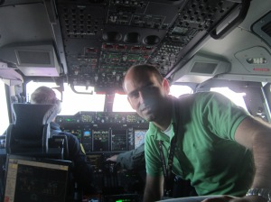 My first flight on-board the A400M.