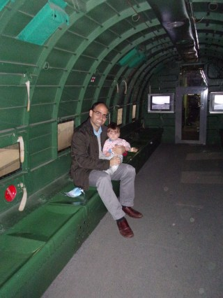 Inside a C-47 Skytrain Dakota