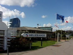 Heliport de Paris.