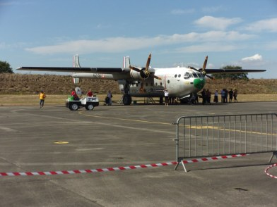 Nord Aviation Noratlas in static display.