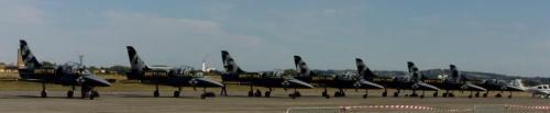 The Breitling Jet Team L-39 Albatros.