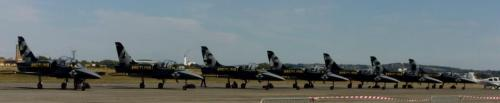 The Breitling Jet Team L-39 Albatros.