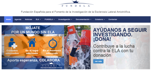 FUNDELA foundation website.