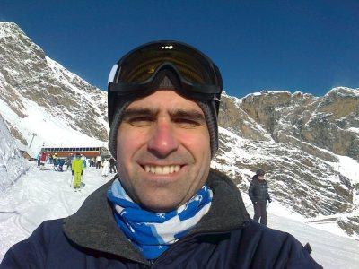 Skiing version of self.