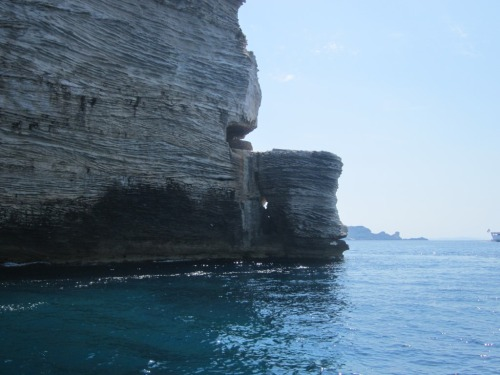 "Film location of ""The Guns of Navarone"" from the sea (1/2)."