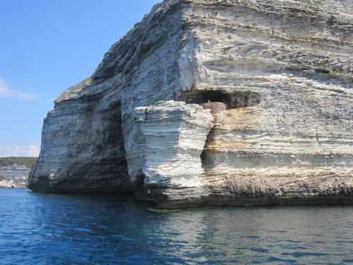 "Film location of ""The Guns of Navarone"" from the sea (2/2)."