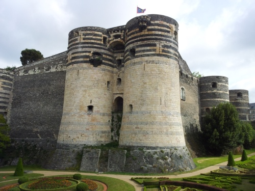 Château d'Angers, founded by the Counts of Anjou.