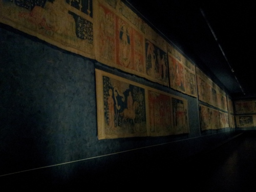 """Apocalypse Tapestry"" at Angers castle."