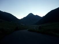 Beginning of the run / trail, at 6h40am.
