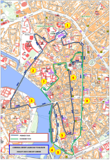 Announced circuit for the 2015 edition.