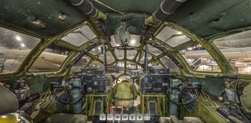 B-29 Superfortress Bockscar virtual tour.