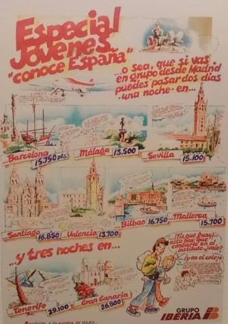 Iberia's poster (1977).