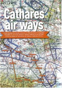 """Cathares air ways"", Info Pilote magazine."