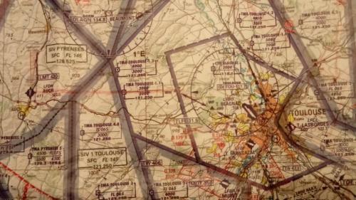 Chart view of Toulouse Lasbordes - Auch.