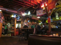 El Bait Shop interior.