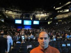 Me at BRK 2011 annual shareholders meeting.