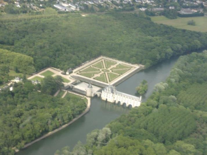Chenonceau_aerial