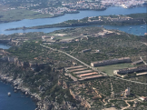 La Mola fortress.